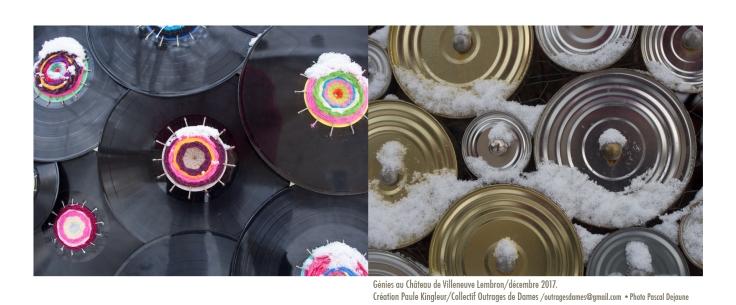 montage disques et ronds sous la neige©pascal dejaune
