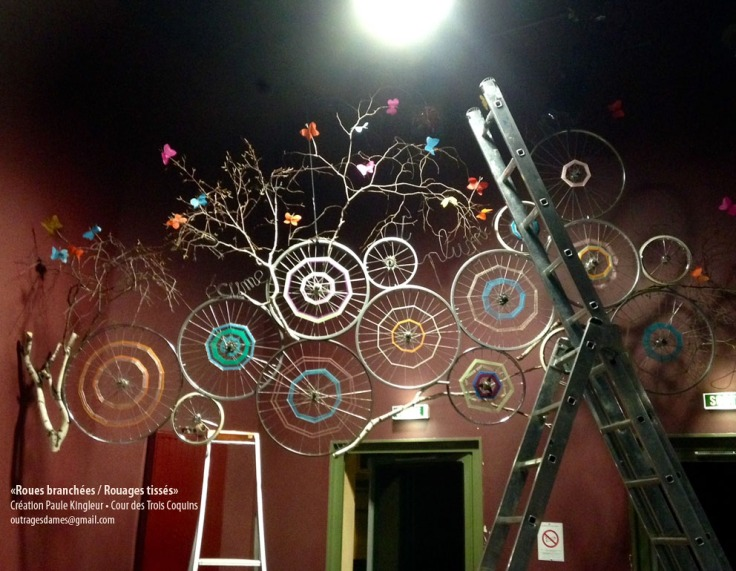 installation roues branchées 3 coquins