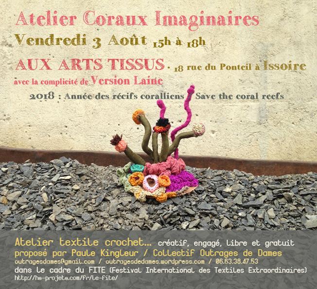 flyer-atelier-coraux-Issoire-aux-arts-tissus