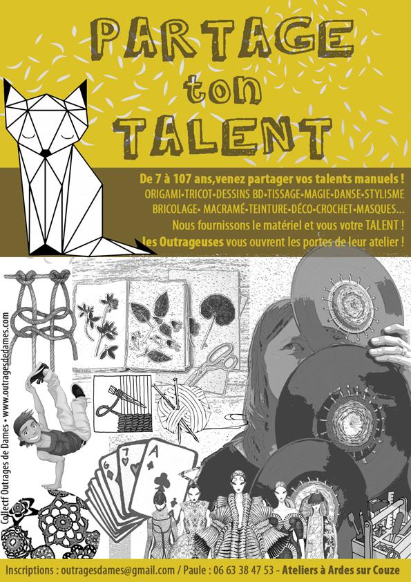 AFFICHE partage ton talent (reduce)