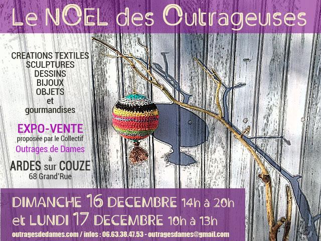 Flyer Noël des Outrageuses